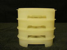 Vintage Tupperware Mini Ice Cube Tray Set of 4