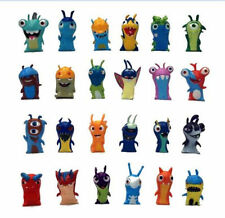 Lot 24pcs Slugterra Action Figures PVC Toys Burpy Bludgeon Slugs Kids' New