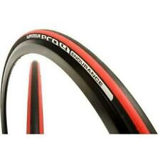 Michelin Pro 4 Endurance Folding Road Tyre Black/Red  700x23c, Folding Tyres