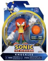Sonic the Hedgehog Knuckles with Basketball Bendable Figure Jakks Pacific New