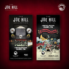 The Joe Hill Collection: Limited Edition N0S4A2 and Christmasland pin set!