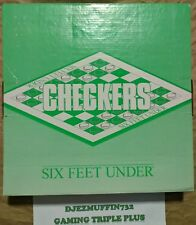 SIX FEET UNDER CHECKERS SET (HBO) PROMOTIONAL ITEM