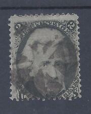 USA 1861 JACKSON 2c USED  SG 69 (#1)