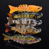 4pcs Spinner Baits Fishing Lures Crank Floating Baits Hook 5cm 1.97inch 6.5g