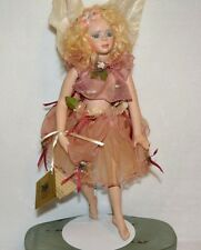 Porcelain Doll Ballerina Fairy Artist Made Susan Dunham GiGi Flower Fairy COA