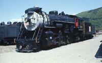CN 3377 CANADIAN NATIONAL Railroad Steam Locomotive Original Photo Slide