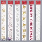 57cm Long Xmas Window Freeze Sticker Glitter Grotto Display Christmas Decoration