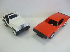 Rare 1980's DAISY'S JEEP & GENERAL LEE from The Dukes Of Hazzard - From Gay Toys