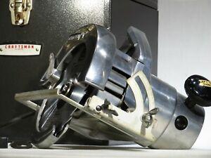"Vintage Craftsman 7"" INDUSTRIAL 1-1/2HP Circular Saw W/ Case & More!  Runs Great"