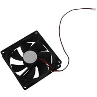 90mm x 25mm 9025 2pin 12V DC Brushless PC Case CPU Cooler Cooling Fan N4X1 KI