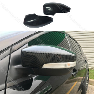 Fit for ford Focus 2012-2018 MK3 Carbon fiber color Rearview Mirrors Cover