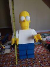 Massive Lego Homer Simpson Display Figure