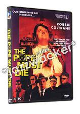 The Pope Must Die DVD (1991) RARE! Robbie Coltrane Beverly D'Angelo Diet