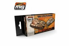 AMMO OF MIG A.MIG-7106 Acrylic Paint Set (6 jars) Rust Effects Colors