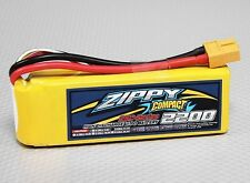 ZIPPY Compact 2200mAh 3S 25/35c Lipo Battery Trex 450 plane TURNIGY PARKZONE