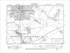 Shipton Bellinger, Old Map Hampshire 1911: 22NE