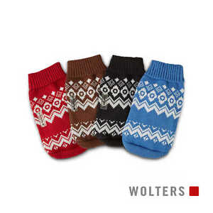 Hundepullover Wolters Strick Norweger auch Mops & Co. Hunde Bekleidung Mantel
