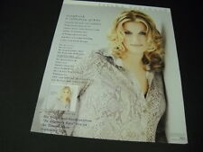 Trisha Yearwood .one of.most dynamic vocal stylists 1997 Promo Poster Ad mint