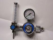 Druckminderer Argon CO2  mit Flowmeter Schutzgas WIG MIG MAG