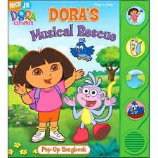 Doras Musical Rescue Popup Sound Book (Hardback)