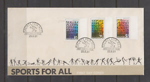 Singapore Stamps 1981 Sports for All set on FDC