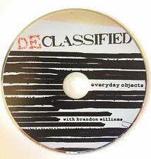 """DECLASSIFIED"" - MAGIC WITH EVERYDAY OBJECTS - with Brandon Williams"