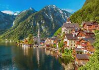 A1 | Hallstatt Austrian Alps Poster Art Print 60 x 90cm 180gsm Ski Gift #12560