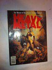 1992 Heavy Metal Comic Book Special eddition Tattoo Art gothic design