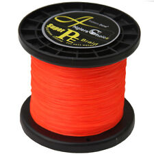 Braided Fishing Line 10lb 1000m 8 strands PE Multifilament Orange Japanese Line