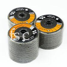 """15pcs Flap Discs 115mm Sanding 40 60 80 Grit Grinding Wheels Discs 4.5"""""""