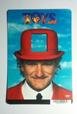 TOYS ROBIN WILLIAMS HAT COVER ART MINI POSTER BACKER CARD (NOT a movie)