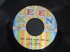 Sam Cooke, Lonely Island/ You Were Made For Me, Keen 7""