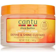 [CANTU] SHEA BUTTER FOR NATURAL HAIR DEFINE & SHINE CUSTARD 12OZ