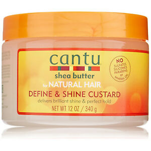 [CANTU] SHEA BUTTER FOR NATURAL HAIR DEFINE & SHINE CUSTARD 12OZ