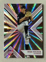 Rare Ryan Rolison 2018 Elite Extra PINK HOLO Rookie Ole Miss Rebels Rockies RC