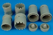 Aires 1/32 F-15K Slam Eagle exhaust nozzles for Tamiya kit # 2101