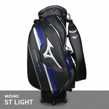 Mizuno 2018 ST Light Men's Caddie Bag Cart 9.5In 3.2Kg 5-Way Enamel PU EMS Blue