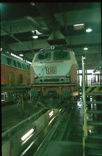 Originaldia DB 218 344 Mühldorf 14.5.1999