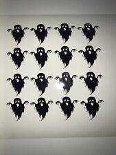 16 X Halloween Ghost Vinyl Decals 3 X 3 Cm