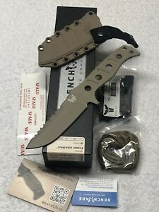 Discontinued Benchmade Adamas 375SN Fixed Blade New In Box