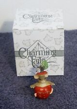 "Charming Tails ""Teacher"" Ornament New"