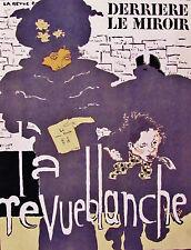 BONNARD - LA REVUE BLANCHE - LITHOGRAPH - DERRIERE LE MIROIR - 1966 - FREE SHIP!