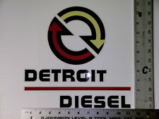 Detroit Diesel sticker decal large size NHRA IMCA USRA NTPA