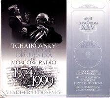 Vladimir FEDOSEYEV: BOCCHERINI Boris TCHAIKOVSKY Cello Concerto CD Victor Simon