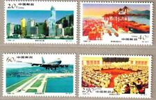 China 1996-31 Economic Construction in Hong Kong Stamps 香港建設