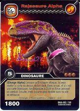 Carte DINOSAUR KING Attaque Alpha RAJASAUREALPHA DKAA 002/100