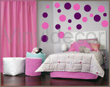 Vinyl wall decor sticker 50-6 INCH POLKA DOTS decal bgv