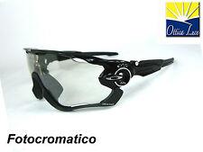 OAKLEY JAWBREAKER 9290 14 BLACK  POTOCHROMIC Sunglass Sonnenbrille Sole occhiali