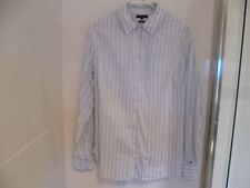 Tommy Hilfiger Ladies Fitted Cotton Shirt/Top Size 12