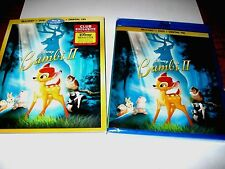 Disney Bambi 2 II DMC Exclusive Edition Blu-ray/DVD/Digital HD copy NEW